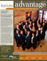September 2012 - Rochester Area Chamber of Commerce