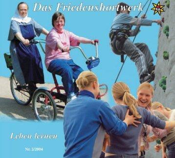 Das Friedenshortwerk - Evangelische Jugendhilfe Friedenshort