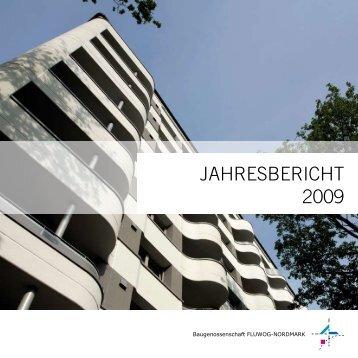 Jahresbericht 2009 - der Baugenossenschaft - FLUWOG ...