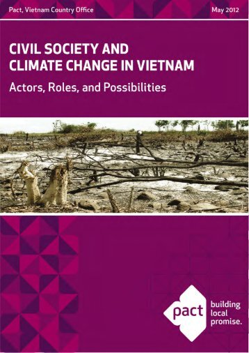 Pact civil society and climate change
