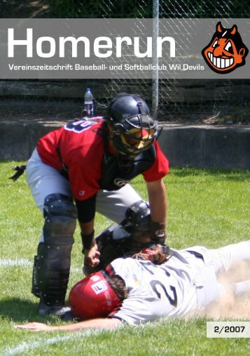 Jahresbericht Baseball NLB - Wil Devils