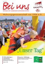 Bei uns 01/2005 - Wohnungsgenossenschaft von 1904 eG