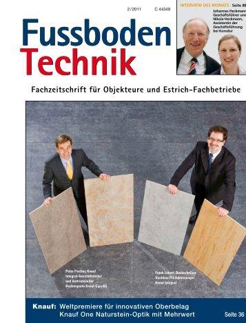 Fachzeitschrift für Objekteure und Estrich-Fachbetriebe - Korodur ...