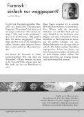 forensik - einfach nur weggesperrt? - Regenbogen Report - Page 5