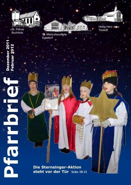 Pfarrbrief - Katholische Pfarrgemeinde St. Petrus Buchholz