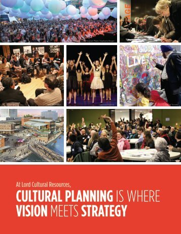 cultural planning - Lord Cultural Resources