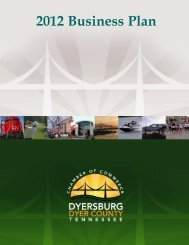 Business Development - Dyersburg / Dyer County Chamber of ...