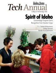 Tech Annual - Idaho State University