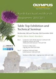 Table Top Exhibition and Technical Seminar - Subsea UK
