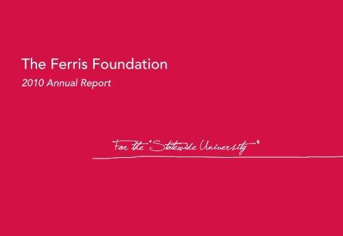 The Ferris Foundation - Ferris State University