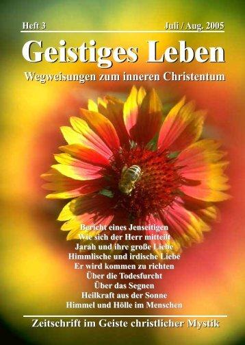 GL 4/2005 - der Lorber-Gesellschaft eV