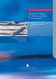 Finnish Science in International Comparison - Suomen Akatemia