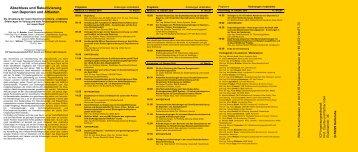 Programm - AK GWS