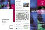 Schlaganfall - Ein Notfall - Sächsische Landesärztekammer