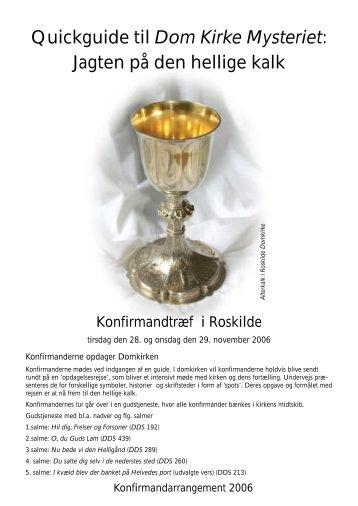 Dom Kirke Mysteriet - roskildeundervisning.dk