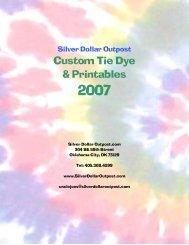 Custom Tie Dye & Printables - Silver Dollar Outpost