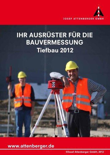 Tiefbau 2012 - Attenberger GmbH