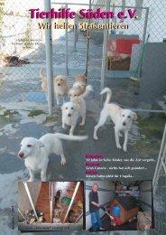 Tierhilfe Süden eV Tierhilfe Süden eV. Wir helfen Straßentieren