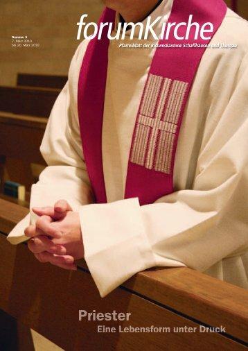 Priester werden immer älter und rarer - forum Kirche