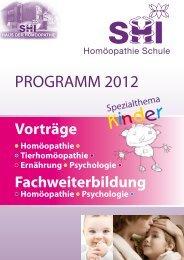 dipl. - SHI Haus der Homöopathie