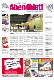17. November 2012 - Berliner Abendblatt