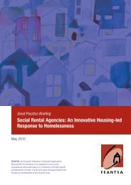 Social Rental Agencies: An Innovative Housing-led ... - Feantsa.