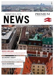 Premium IMMMOBILIEN NEWS, Edition 03 - Fokus Makler Gmbh