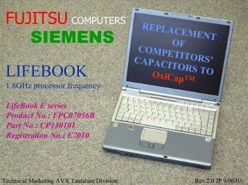 Notebook F2 - AVX