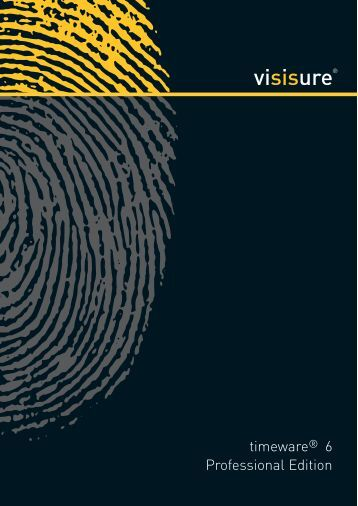 specificationsheet timeware ® 6 professional edition - visisure (Africa)