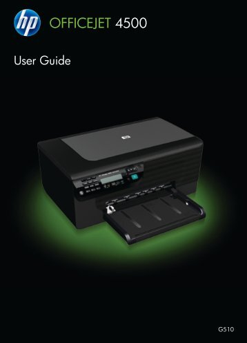 HP Officejet 4500 (G510) - FTP Directory Listing - Hewlett Packard