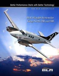 maximize performance. - BLR Aerospace