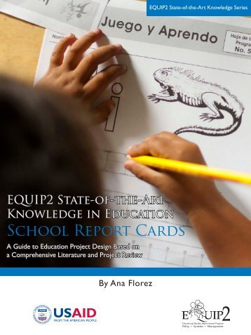 EQUIP2 SOAK: School Report Cards - Education Policy Data Center