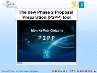 The new Phase 2 Proposal Preparation (P2PP) tool - ESO