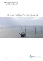 UK Ports for the Offshore Wind Industry: Time to Act
