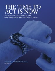 The Time to Act Is Now: Action Steps and Recommendations to the ...
