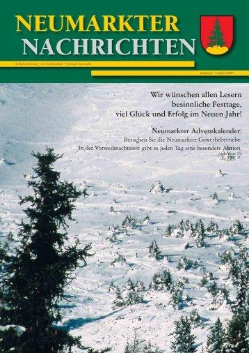 Neumarkter Nachrichten 12-05.indd - Gemeinde Neumarkt in der ...