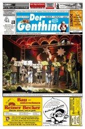 Frohe Weihnachten und allzeit - Der BurgSpiegel / Der Genthiner
