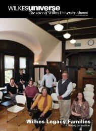 Wilkes legacy Families - Wilkes University