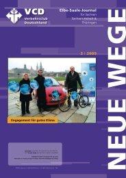 titel thema - VCD Landesverband Elbe-Saale