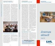 Zentrum aktuell - Zentrum für Forensische Psychiatrie Lippstadt