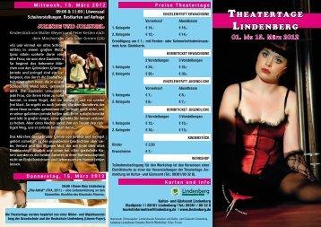 01. bis 15. März 2012 - Lindenberg