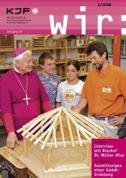 3/2008 Interview mit Bischof Dr. Walter Mixa ... - Kjf-augsburg.net