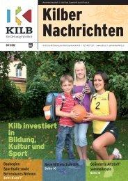 Sonntag, 11. November 2012 von 8.30 - 16.00 Uhr K4 - Gemeinde Kilb
