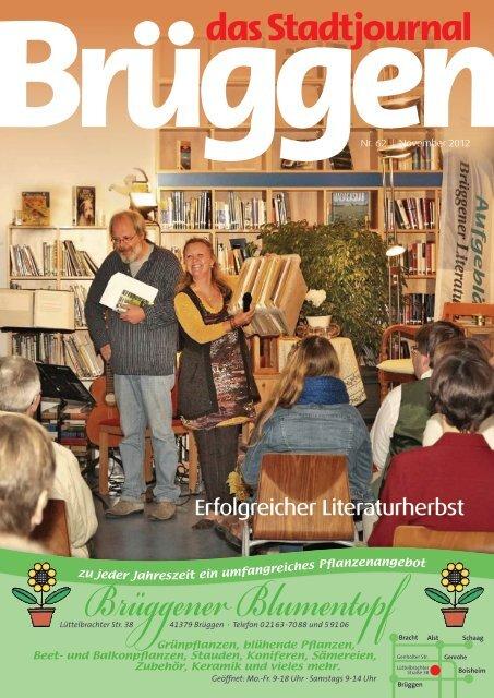 Erfolgreicher Literaturherbst - Stadtjournal Brüggen