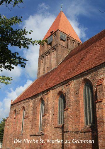 Die Kirche St. Marien zu Grimmen - Ev. Kirchengemeinde Sankt ...