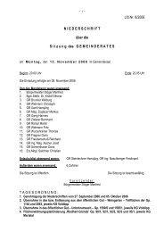 Protokoll 8/2006 (93 KB) - .PDF - Gemeinde Kramsach