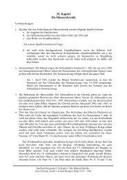 29. Kapitel Die Häuserchronik - Böttge