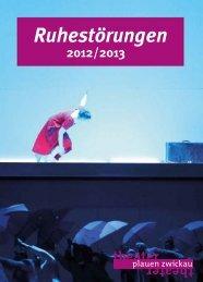 Spielzeitheft - Theater Plauen-Zwickau
