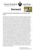Vorwort - Reiterhof zum Penz - Seite 4