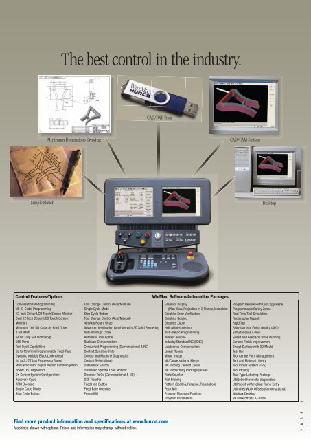 WinMax Brochure - Hurco